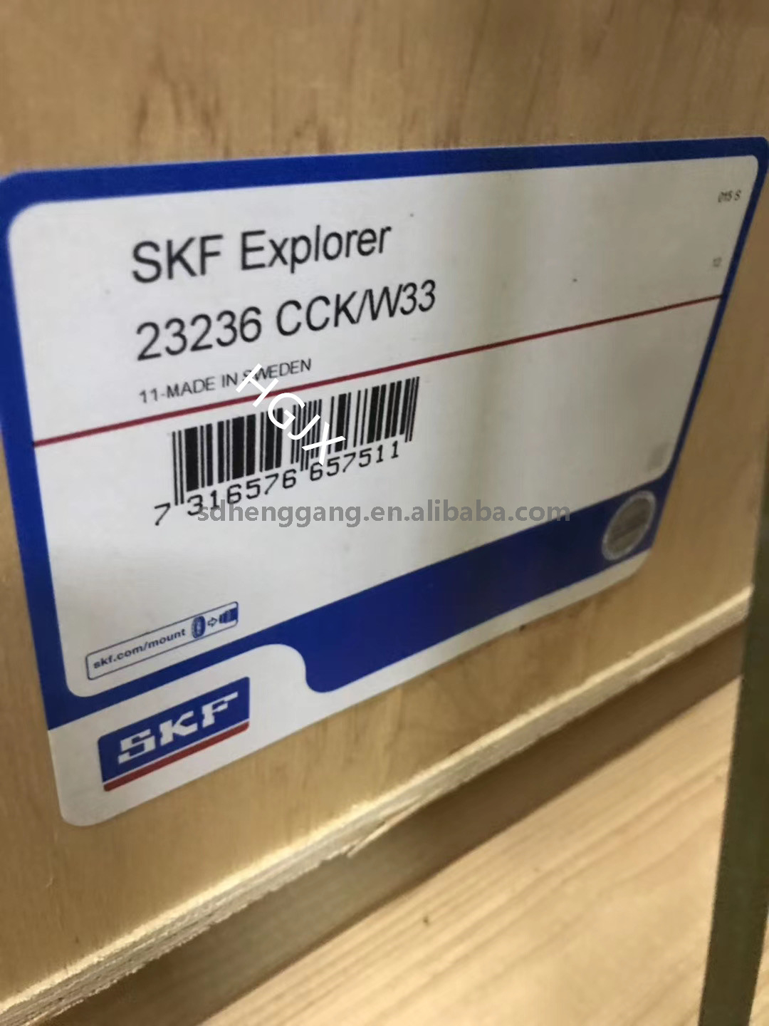 SKF bearing catalogue 23176CA/W33 spherical roller bearing